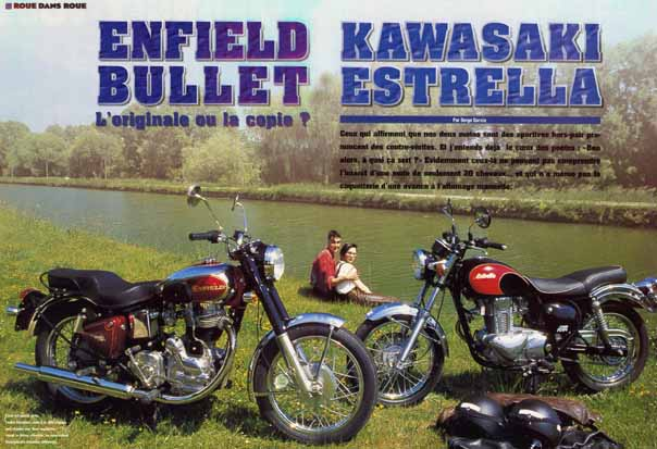Royal enfield le site duel enfield kawa for Royalenfieldlesite