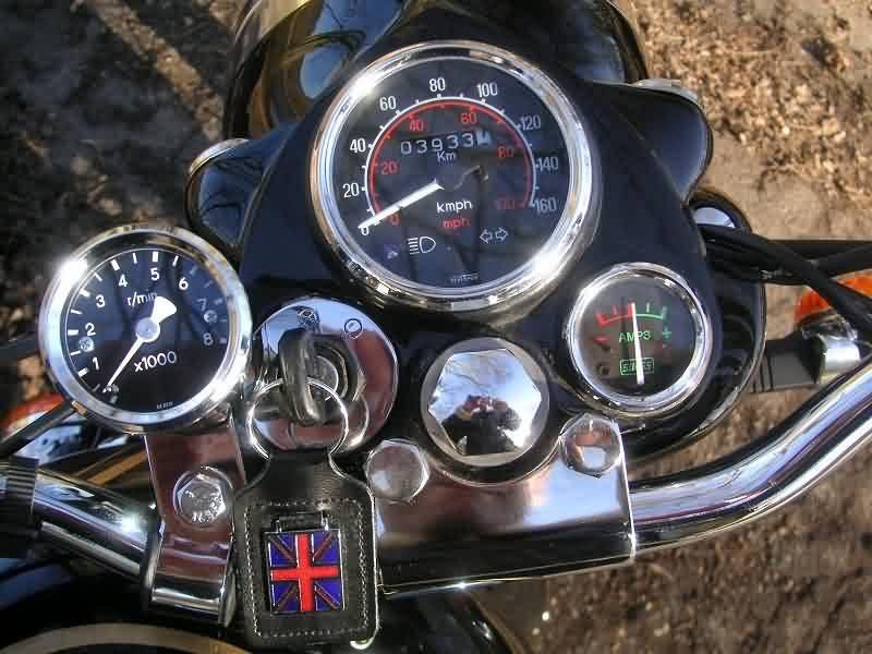 Un compte tour pour nos motos daniel trouve la solution for Royalenfieldlesite